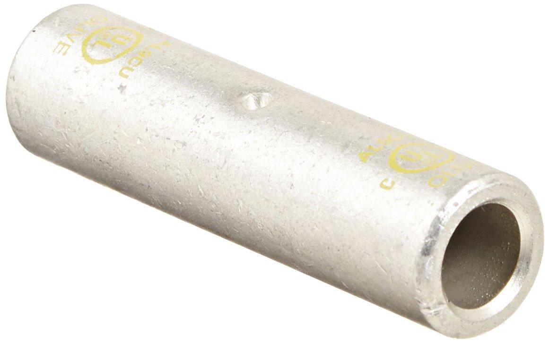 Morris Products 93220 Long Barrel Compression Splice Aluminum Olive Color Code 2 0 Str. Wire Range
