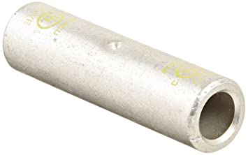 Morris Products 93220 Long Barrel Compression Splice, Aluminum, Olive Color  Code, 2/0 Str  Wire Range