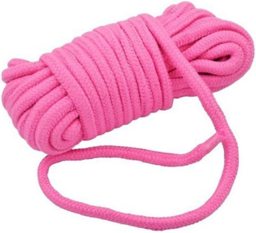 SWISH Soft Cotton Rope-32 feet 10m Multi-Function Natural Durable Long Rope