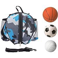 SGMY Bolsa de Baloncesto portátil para Transportar balones de Voleibol de fútbol, Bolsa de Hombro para Deportes al Aire…