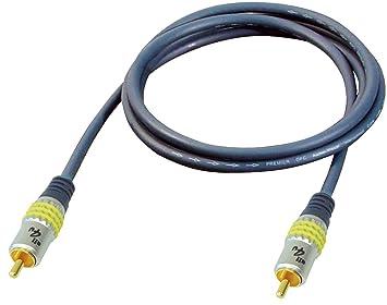 All4u BBV 3 Cinch-Kabel 3 m für Video-Anwendungen: Amazon.de: Elektronik