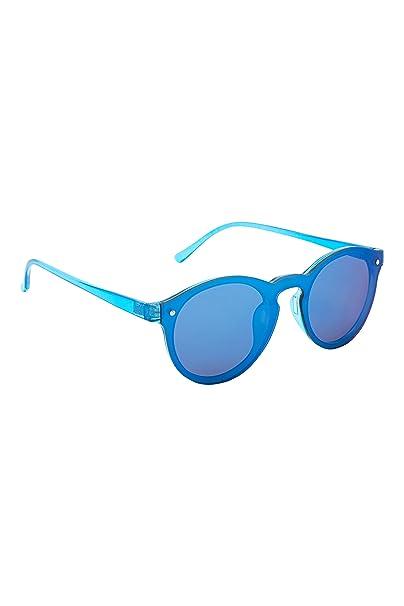 next Niños Gafas De Sol Efecto Espejo Azul 11 à 16 años ...