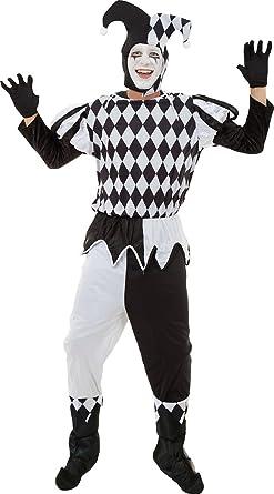 Amazon.com: Hombres de Halloween payaso Medieval traje ...