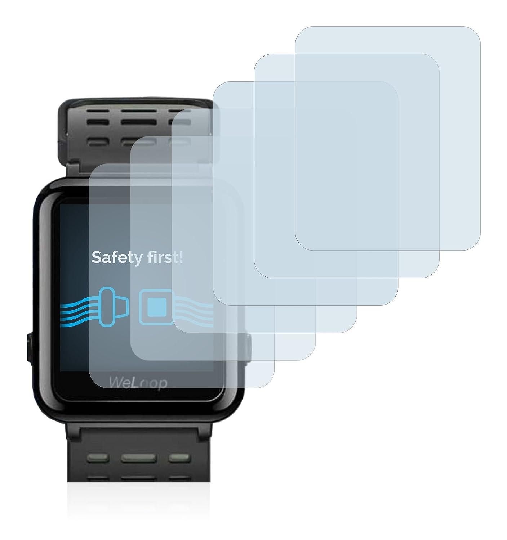 Savvies Protector de Pantalla para Xiaomi WeLoop Hey 3S Película Protectora [6 Unidades]: Amazon.es: Electrónica