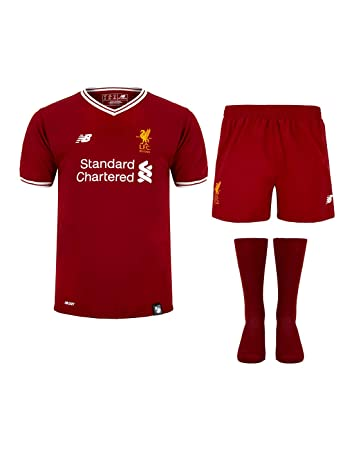 ea2c33c456b Liverpool Home Full Kit Short Sleeve Shirt Shorts & Socks Kids Small Boys  6-7 Years: Amazon.co.uk: Sports & Outdoors