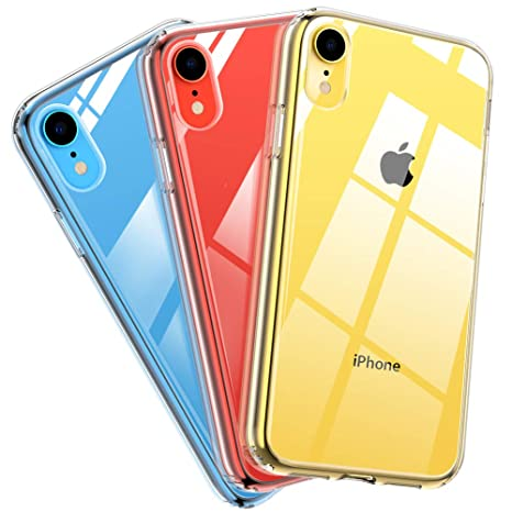 iphone xr coque silicone tpu anti-rayures ultra mince