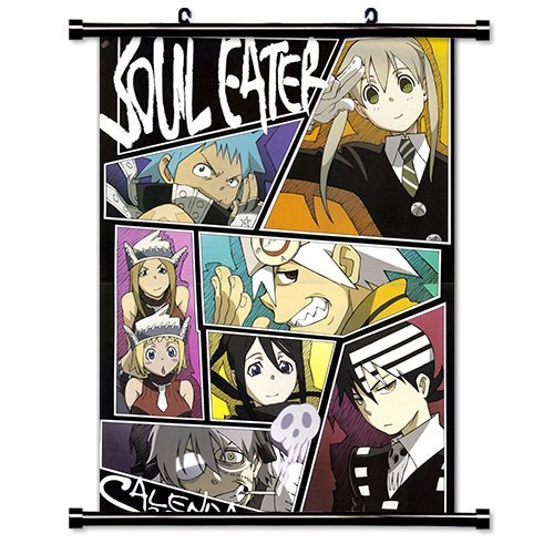 Soul Eater Anime Fabric Wall Scroll Poster