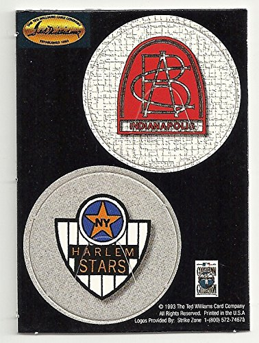 STARS / NEGRO BASEBALL LEAGUE COLLECTIBLE BASEBALL CARD PAPER COINS (COOPERSTOWN COLLECTION) - 1993 TED WILLIAMS CARD COMPANY (FREE SHIPPING) ()