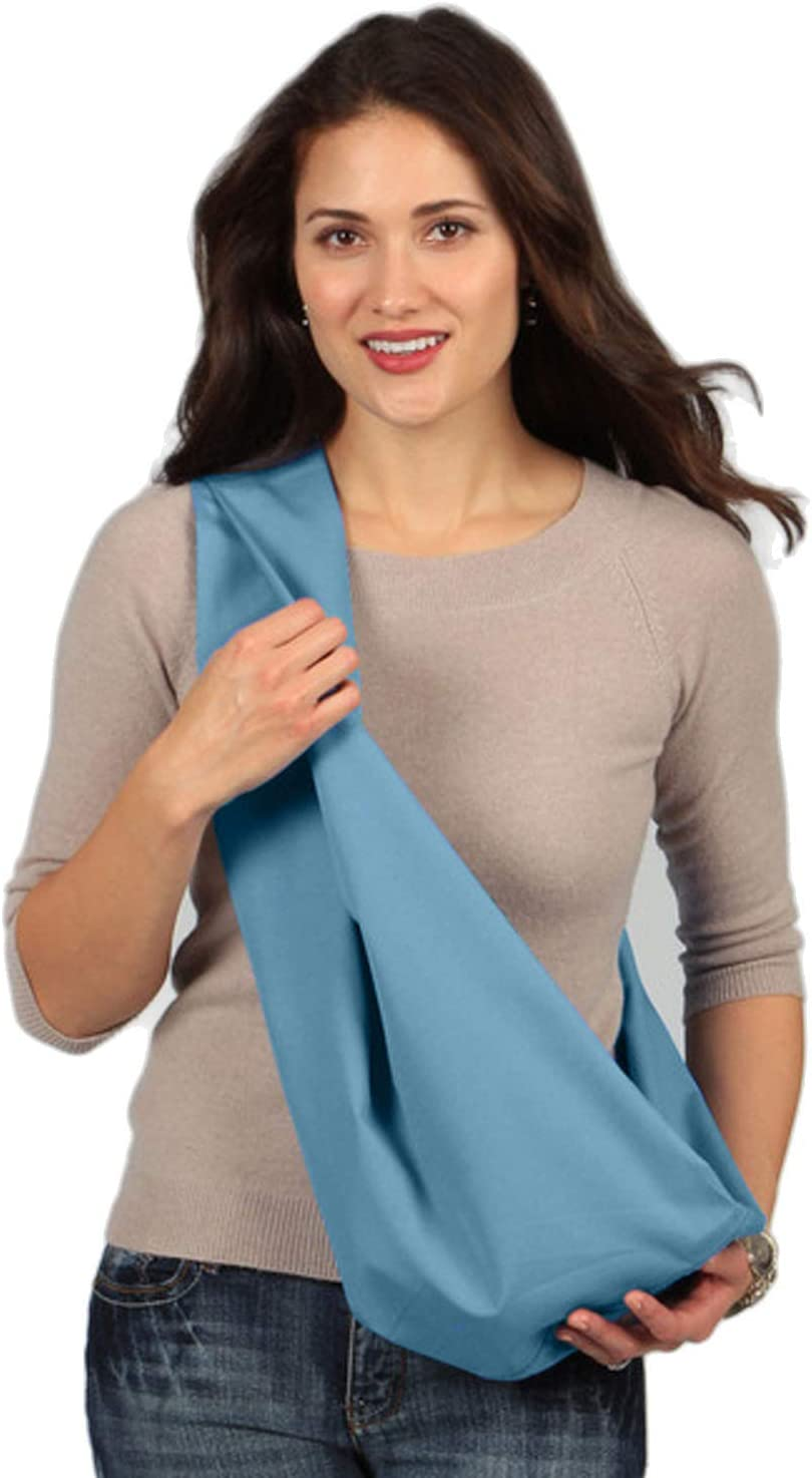 Karma Sky Blue Soft Carrier Baby Sling Extra Large