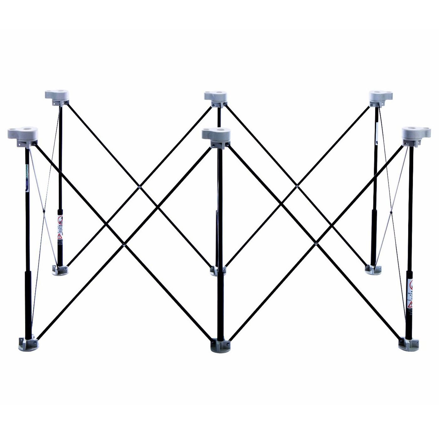 Centipede Tool K100 6 Strut Expandable 2' X 4' Portable Sawhorse and Work System Kit