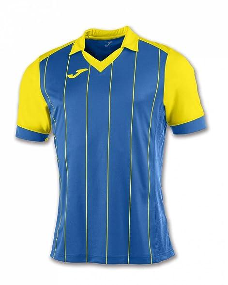 Joma Teamwear T-Shirt Grada Short Sleeves Royal-Yellow