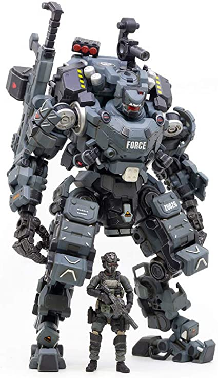 Anime figure action robot military mecha PVC material collection model kids toys