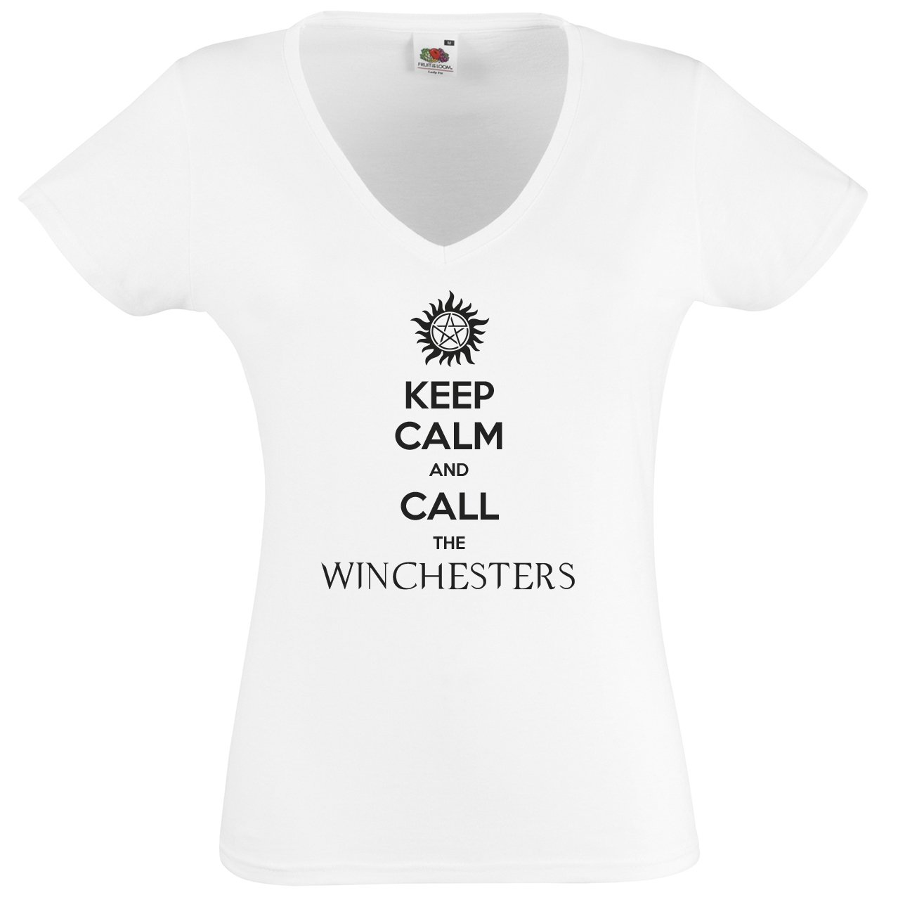 Tee shirt femme Keep Calm and call the Winchesters