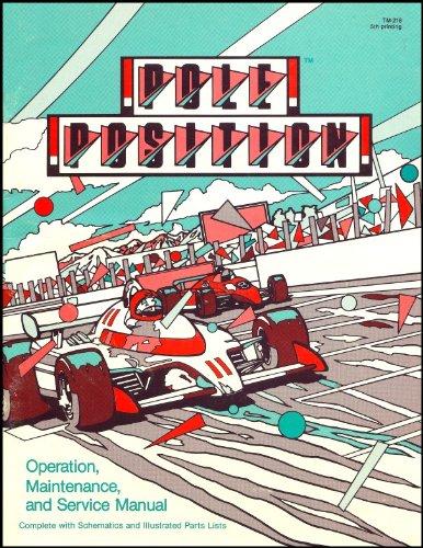 Pole Position Arcade Game Service & Repair Manual