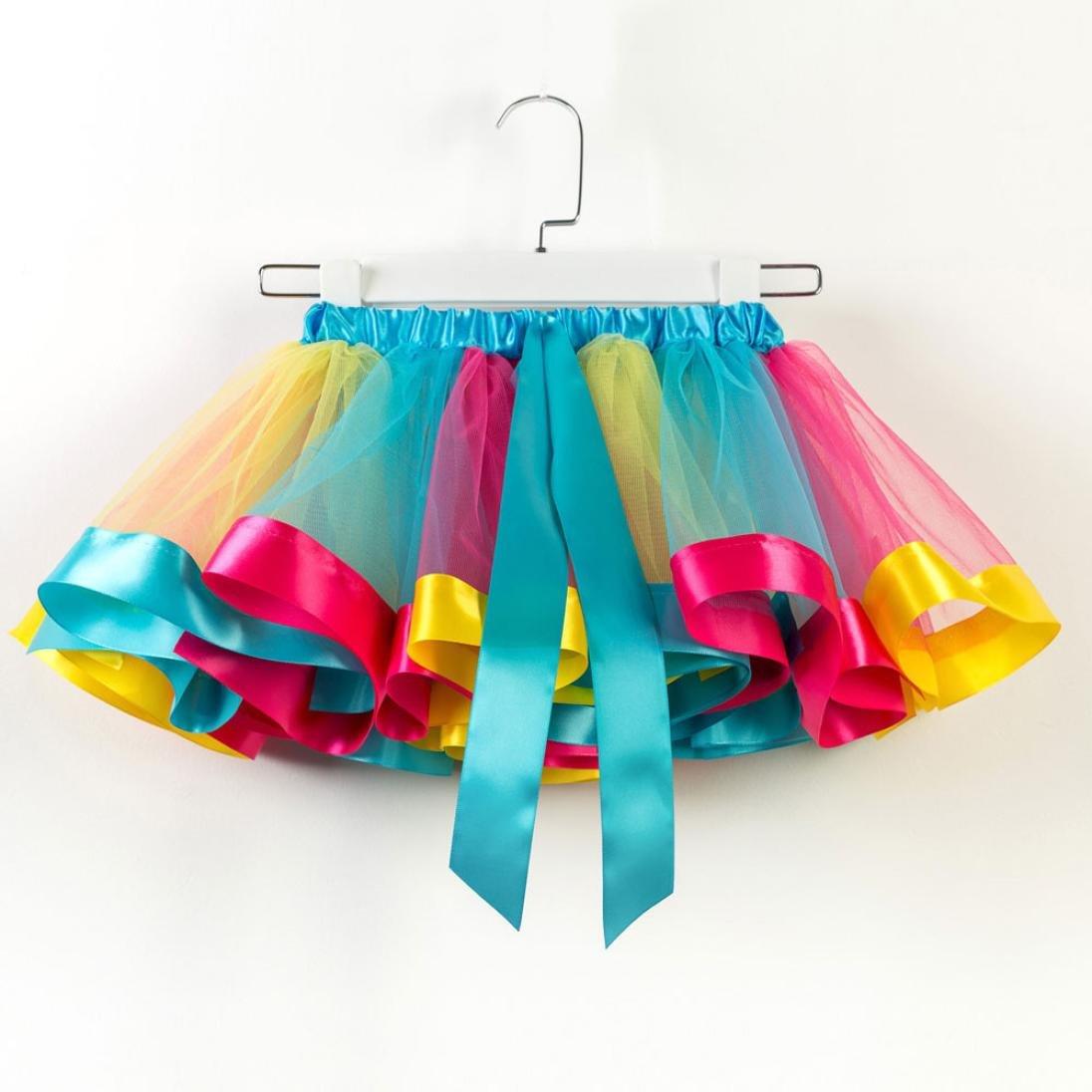 b0c1e644d6eb Amazon.com  KONFA Teen Baby Girls Bowknot Dance Ballet Tutu Dress ...