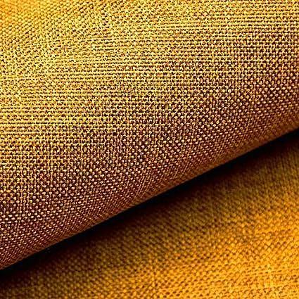 NOVELY/® LUSO Feiner Stoff Polsterstoff Bezugsstoff Meterware M/öbelstoff 10 Orange