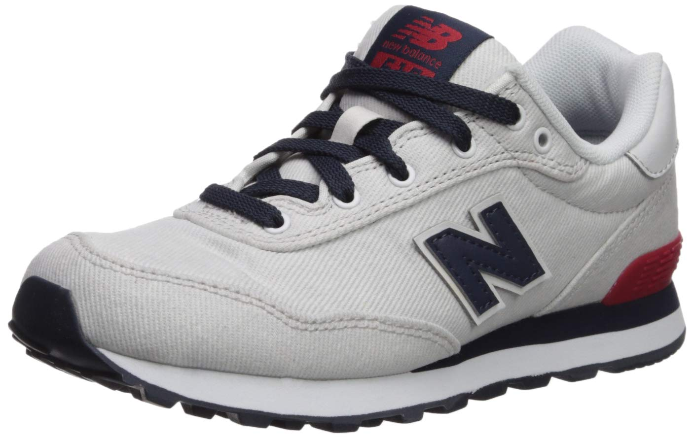New Balance Boys' 515v1 Running Shoe, Nimbus Cloud/NB Navy, 6 W US Big Kid