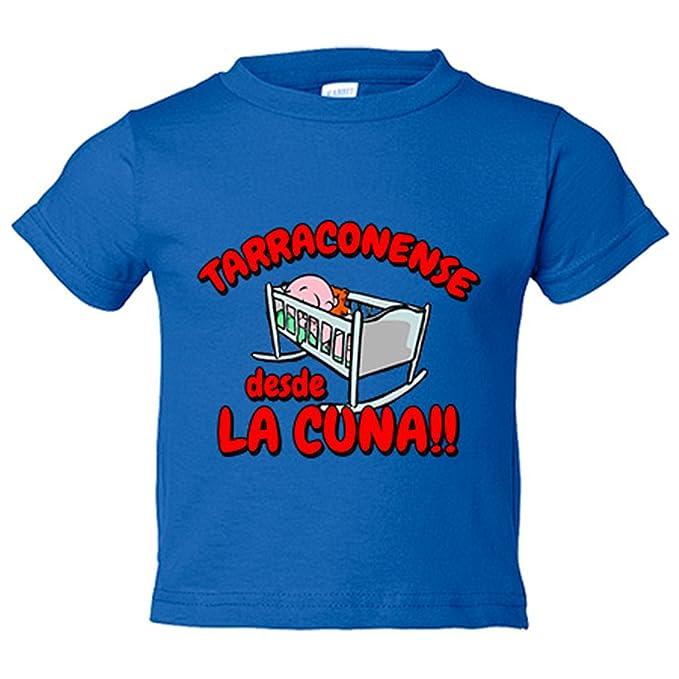 Camiseta niño Tarragonense desde la cuna Tarragoní Tarragona Nastic fútbol - Amarillo, 3-4 años: Amazon.es: Bebé