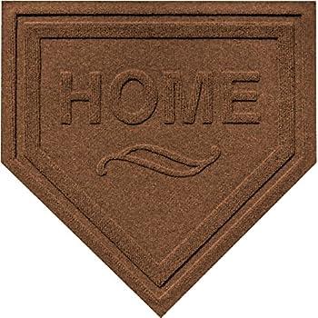 Ordinaire Aqua Shield Home Plate Mat, 2 By 2 Feet, Dark Brown