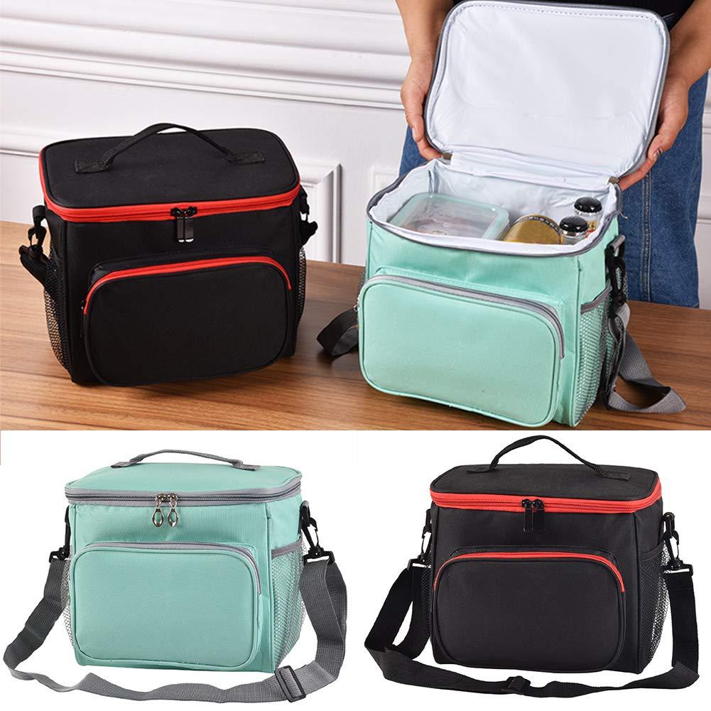 Borsa termica termica per il pranzo con borsa portaoggetti picnic colore A borsa termica per lavoro scuola impermeabile isolata