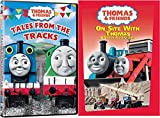 2 DVD Thomas Set - Thomas & Friends Wooden Tank Train Engine - Brand New Loose