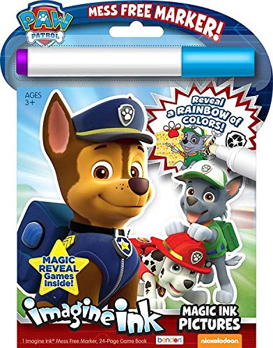 Bendon 23826 Paw Patrol Imagine Ink Magic Ink Pictures