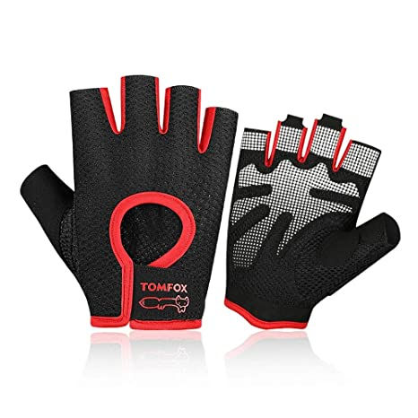 Amazon.com : Agelec Weight Lifting Gloves Fitness Gym Gloves ...