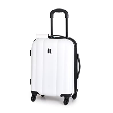 IT Luggage Small White 56cm/19