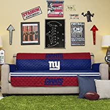 Pegasus Home Fashions New York Giants Reversible Furniture Protector for Sofa