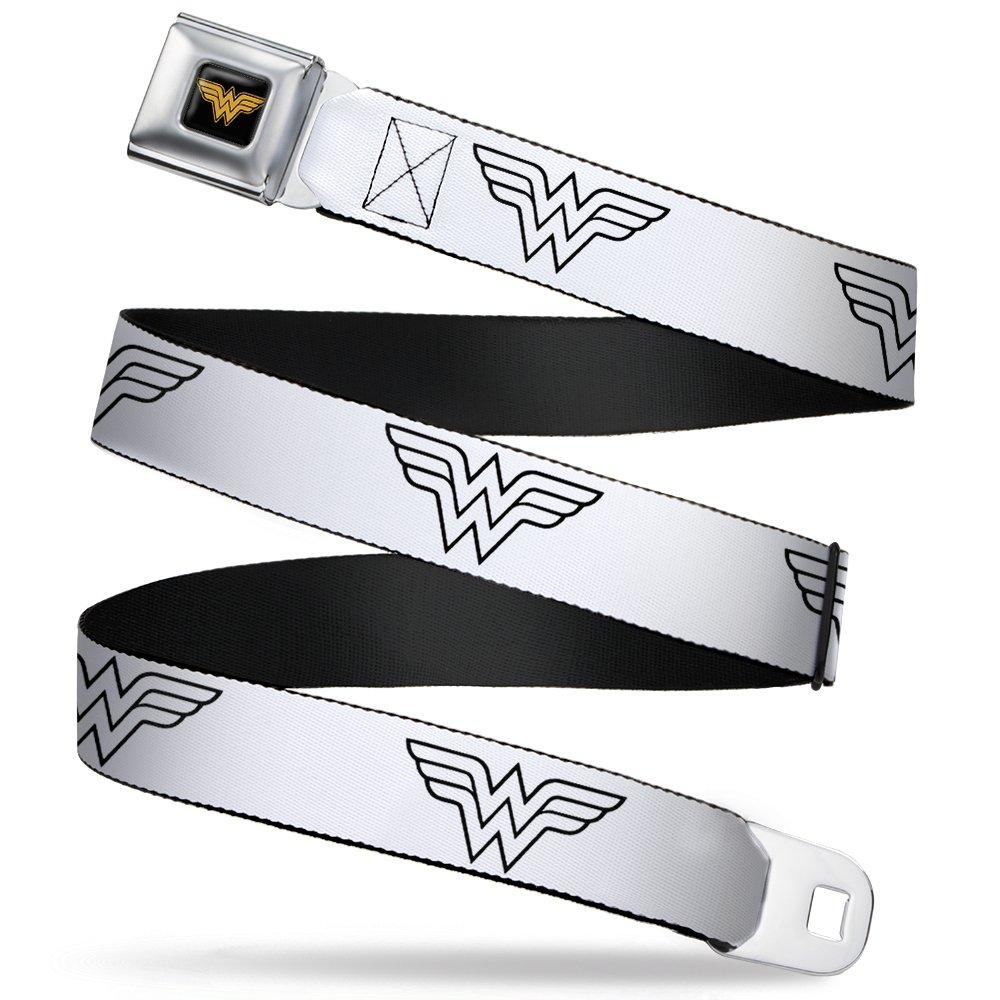 Buckle Down Girls' Seatbelt Belt Wonder Woman Www016