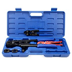 IWISS F1807 Copper Ring Crimping Tool Kit