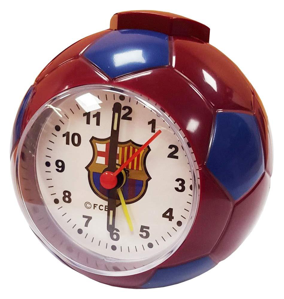 F.C. Barcelona reloj con alarma en forma de balón de fútbol CL ...