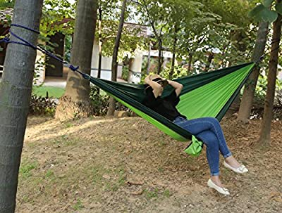 WODISON Lightweight Portable Singlenest Travel Camping Hammock For Backpacking