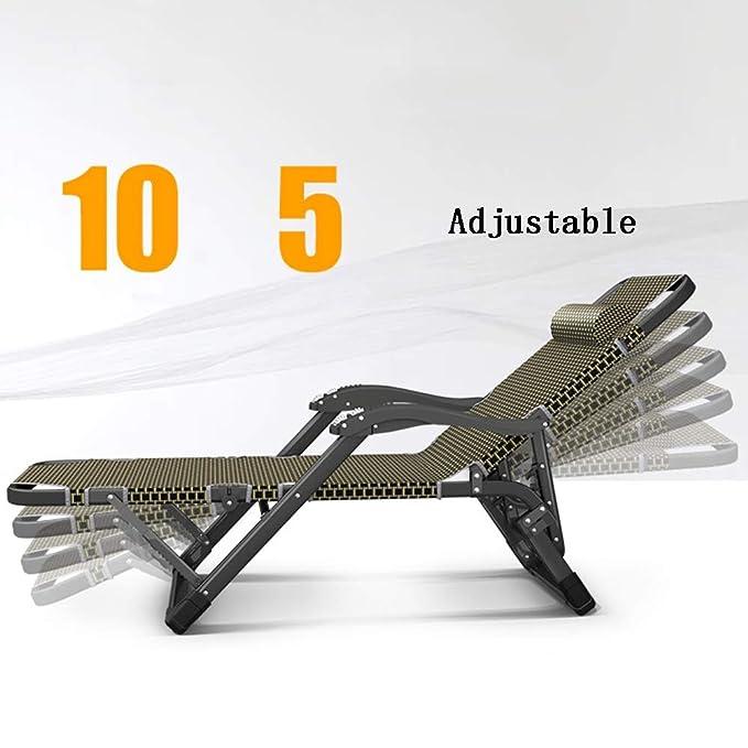Amazon.com: ZHIRONG Silla reclinable para el sol, para el ...