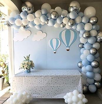 100pcs Confetti Latex Balloon Arch Kit Set Birthday Wedding  Valentine/'s Party