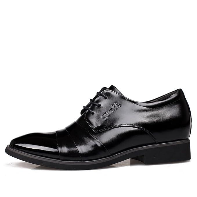 GTYMFH Hombre Negocios Trajes En El Aumento De Zapatos ...