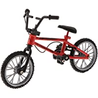 MagiDeal Finger Bike Mini Red BMX Simulation Bicycle Toy Children's Birthday Gift Creative Tech Toy