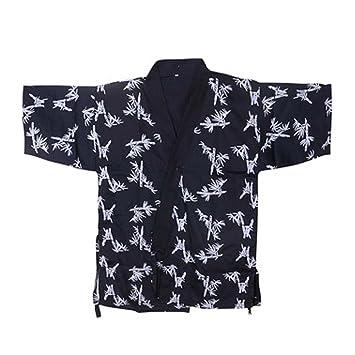 Chaqueta japonesa del jefe de la cocina del sushi del cocinero de los uniformes del trabajo de la manga para el unisex, # 20