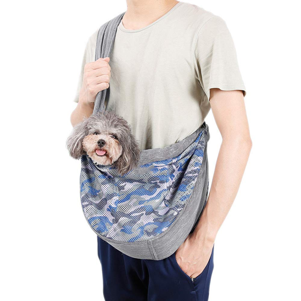 MQJMTD Pet Carrier Sling Single Shoulder Bag Carrier Bags for Small Pets Front Chest Carrier Outdoor Travel Hands Free Bag by MQJMTD