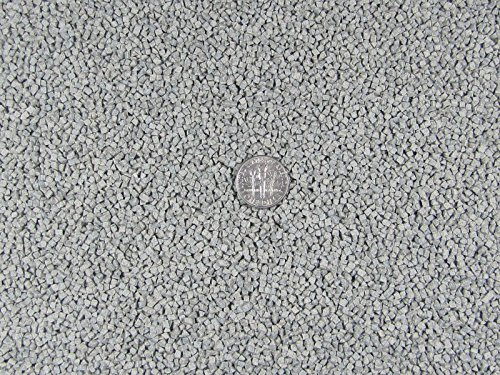 10 Lbs. 2 mm X 2 mm Fast Cutting Abrasive Triangle Ceramic Porcelain Tumbling Media Grey by Algrium (Image #1)