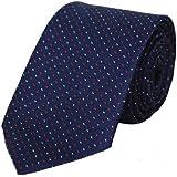 FashMade Men/Boy's Self Design Micro Fiber Formal Tie (Multicolour, 2.75 Inch Broad)