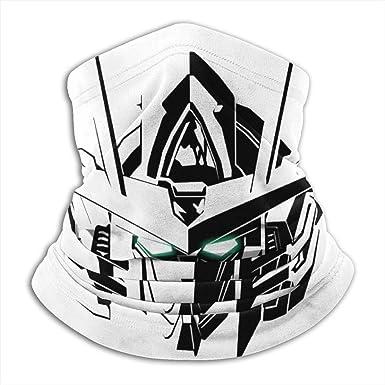 Gundam Unicorn Fleece Neck Warmer Winter Neck Warmer Windproof Face Mask For Men Women