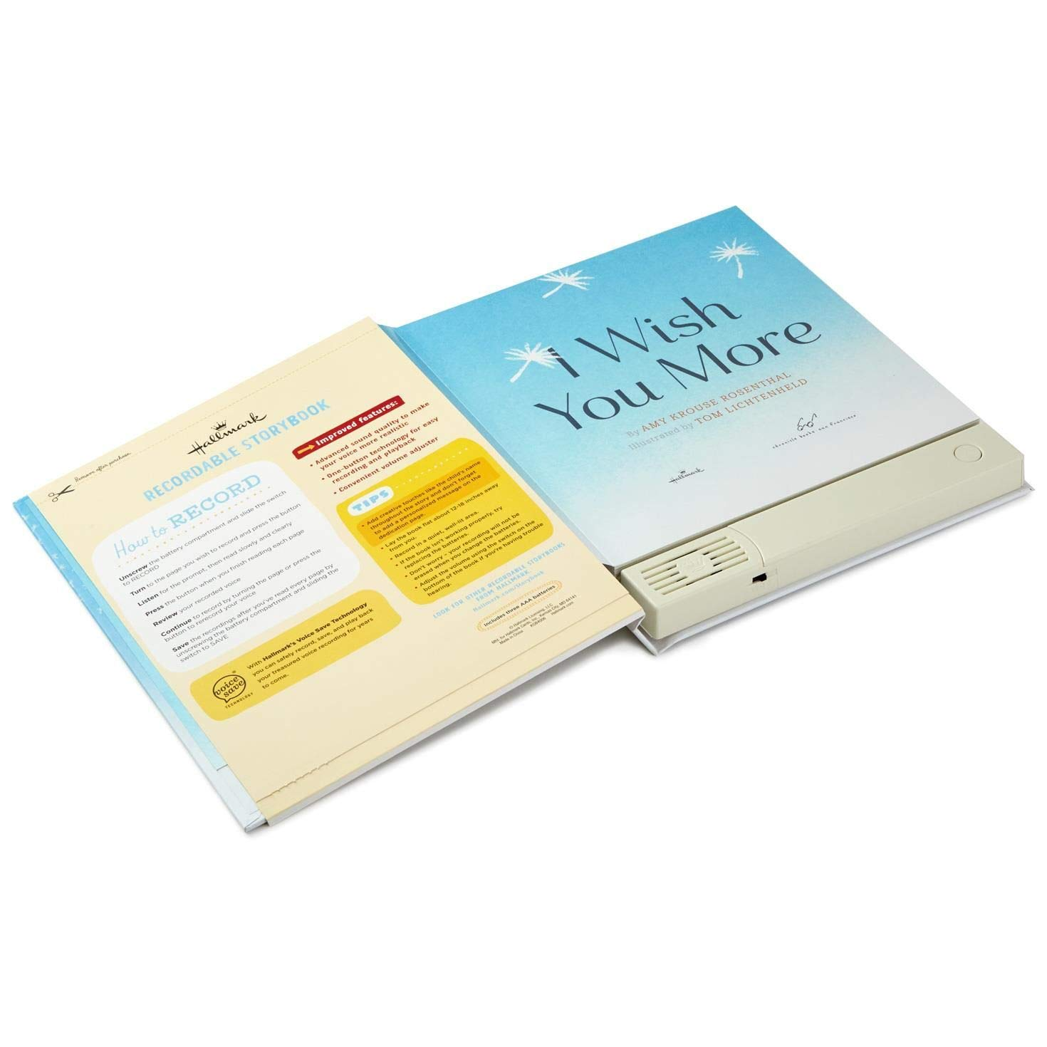 Hallmark I Wish You More Recordable Storybook Recordable Storybooks Juvenile Nonfiction by Hallmark (Image #5)