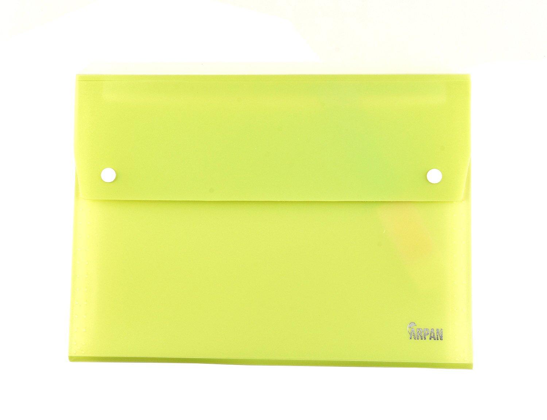 Finanza documenti colori assortiti x 1 universit/à lavoro Arpan 13/Pocket A4/Expander file con chiusura a portafoglio pulsante per scuola Business ufficio famiglia