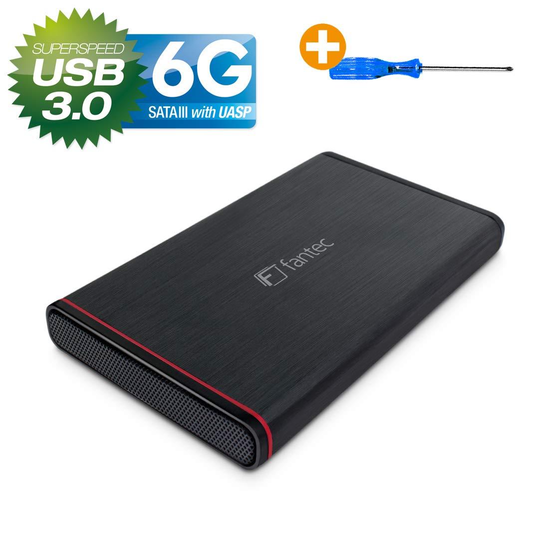 Fantec 225U3-6G - Caja para disco duro de 6,35 cm (2,5 ...