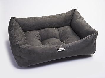 Chilli- Cama para Mascotas, diseño de Perro, Lavable, de Gamuza sintética, tamaño Mediano: Amazon.es: Productos para mascotas