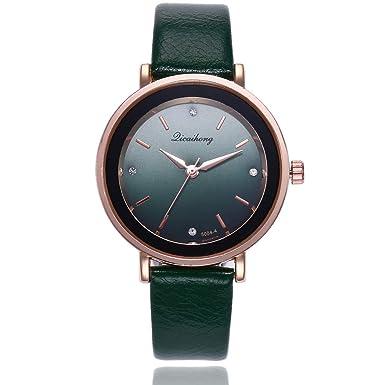 Darringls_Reloj qicaihong,Reloj de Cuarzo de aleación analógico Casual para Mujer Hombre Unisex Retro Relojes para Unisex Reloj de Pulsera Elegante: ...