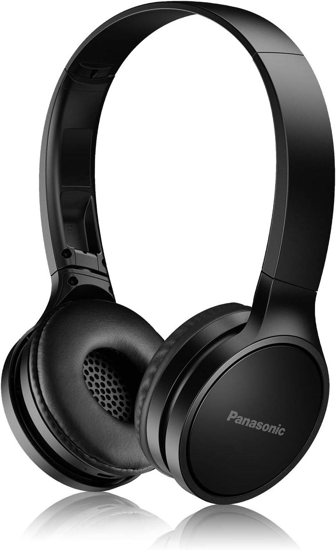 PANASONIC Bluetooth Wireless Headphones with Microphone and Call / Volume Controller - RP-HF400B-K - On-Ear Headphones (Black)