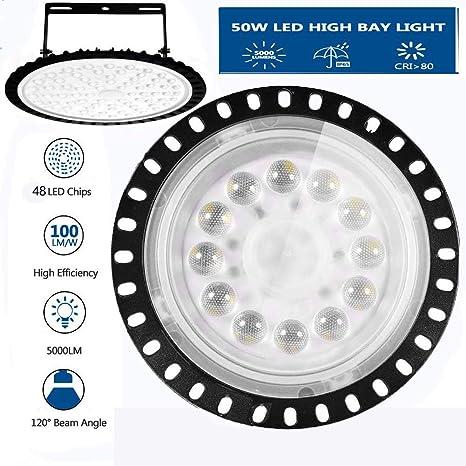 100//150W High Bay Light Bright 6500K White LED Bulb Light Factory Industry Lamp