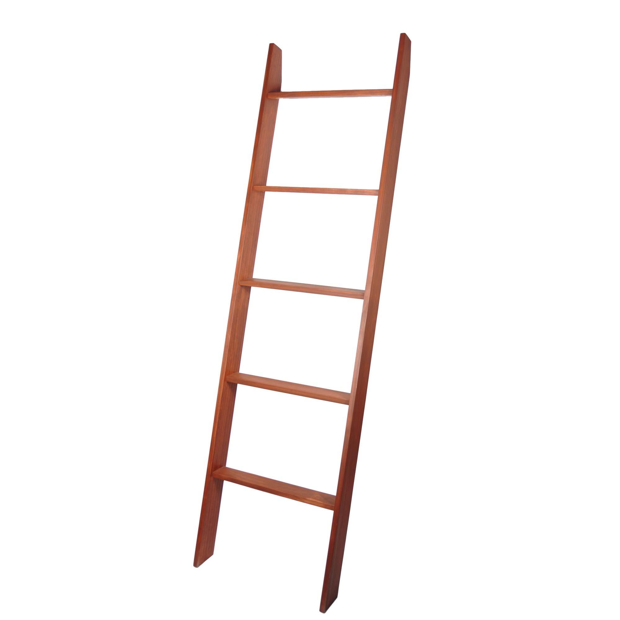 BrandtWorks 201L Lucus Chestnut 72'' Decorative Blanket Ladder